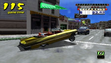 Crazy Taxi: Fare Wars - 08658