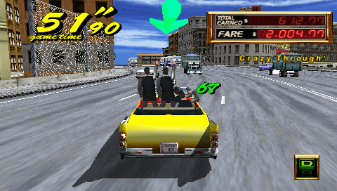 Crazy Taxi: Fare Wars - 08664