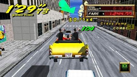 Crazy Taxi: Fare Wars - 08643