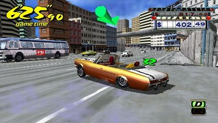 Crazy Taxi: Fare Wars - 08633