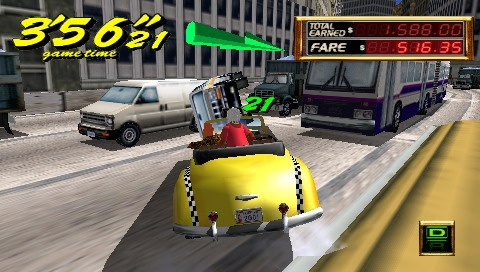 Crazy Taxi: Fare Wars - 08638