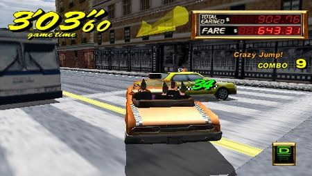 Crazy Taxi: Fare Wars - 08640