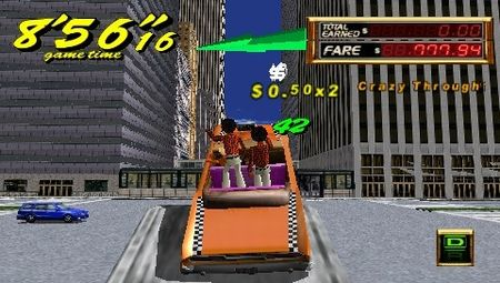 Crazy Taxi: Fare Wars - 08611