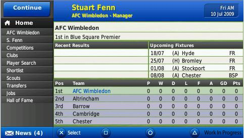 Football Manager Handheld 2010 - 11694