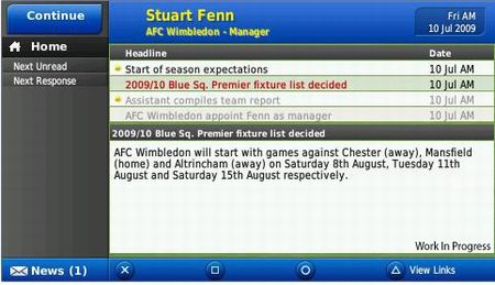 Football Manager Handheld 2010 - 11695