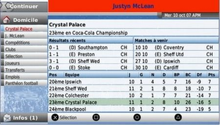 Football Manager Handheld 2008 - 10270