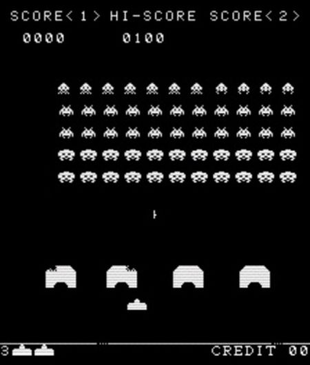 Space Invaders Evolution - 08025