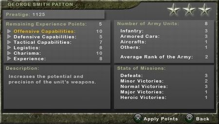 Legends of War: Patton's Campaign - 11621