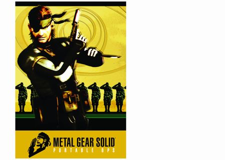 Metal Gear Solid Portable Ops - 05720