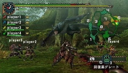 Monster Hunter Freedom Unite - 11003