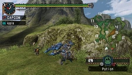 Monster Hunter Freedom Unite - 11008