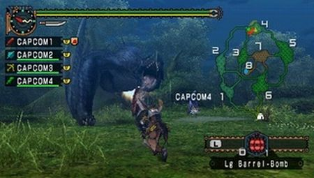 Monster Hunter Freedom Unite - 11012