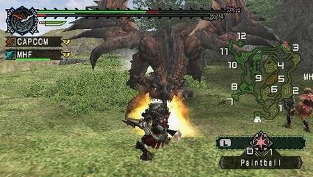 Monster Hunter Freedom - 04512