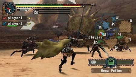 Monster Hunter Freedom 2 - 08247