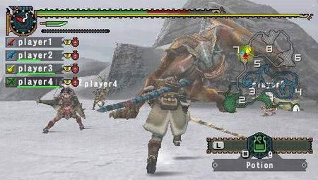 Monster Hunter Freedom 2 - 08249