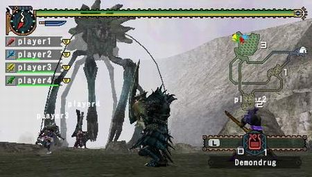 Monster Hunter Freedom 2 - 08250