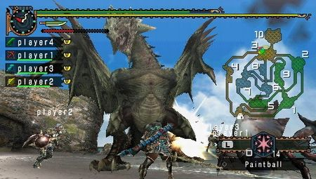 Monster Hunter Freedom 2 - 08243