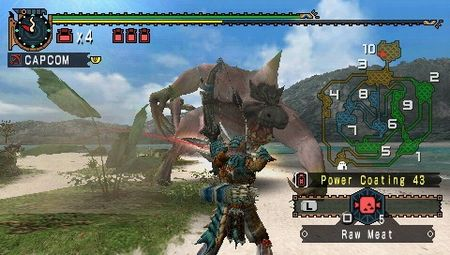 Monster Hunter Freedom 2 - 08244