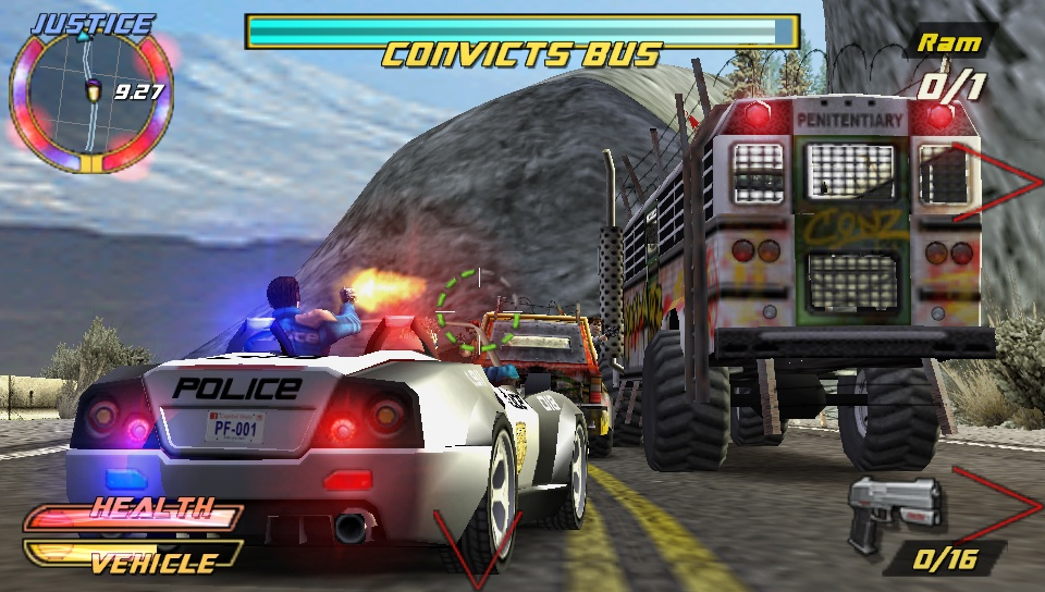 Pursuit Force: Extreme Justice - 08829