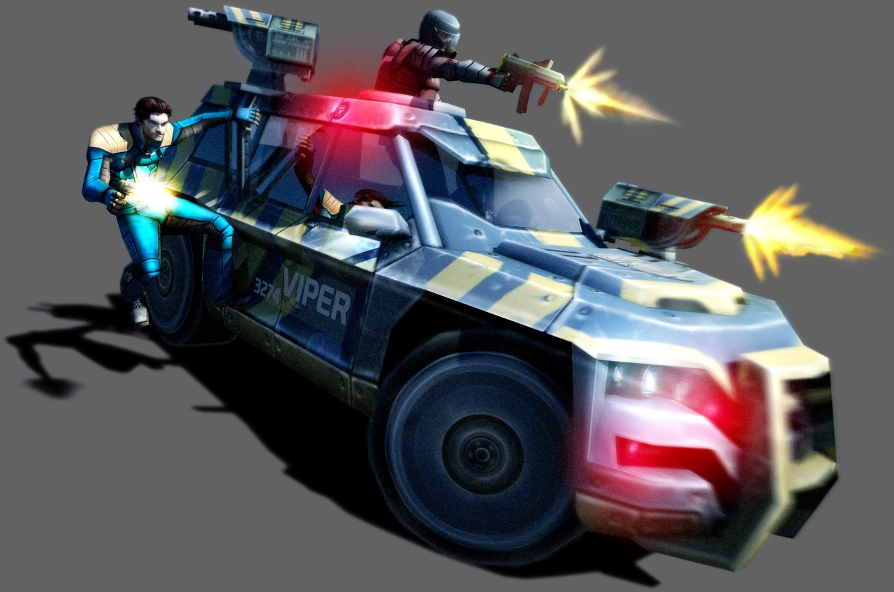 Pursuit Force: Extreme Justice - 08820