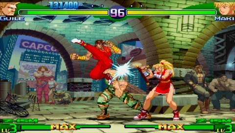 Street Fighter Alpha 3 MAX - 03549