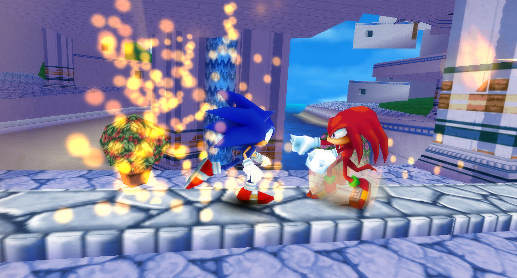 Sonic Rivals 2 - 09638