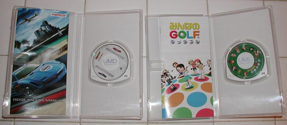 Photos: PSP UMD and Box  - 01299