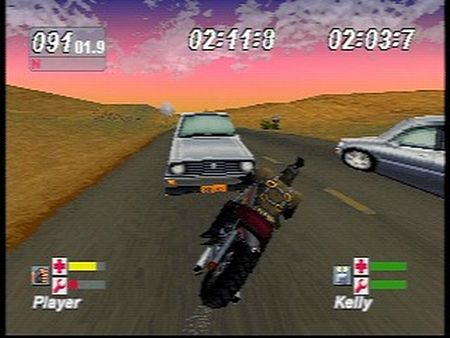 Road Rash: Jailbreak - 08611