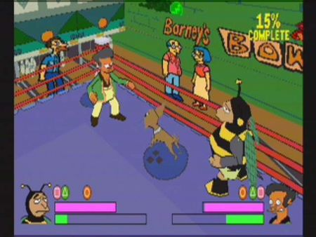 Simpsons Wrestling - 10555