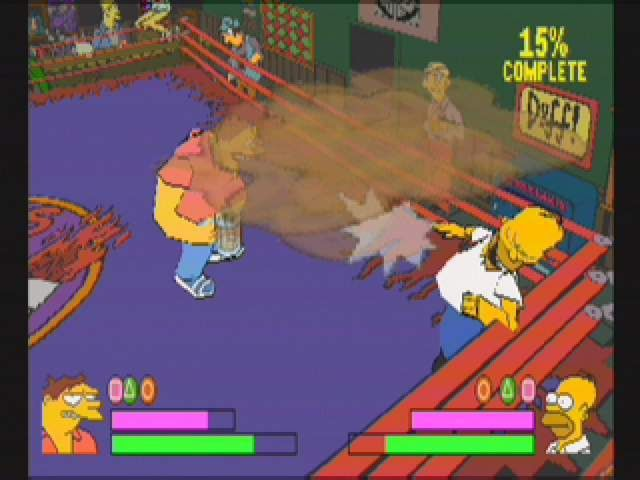 Simpsons Wrestling - 10556