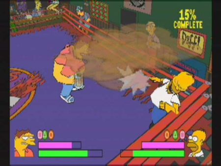 Simpsons Wrestling - 10583