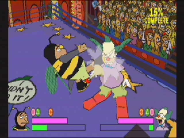 Simpsons Wrestling - 10557