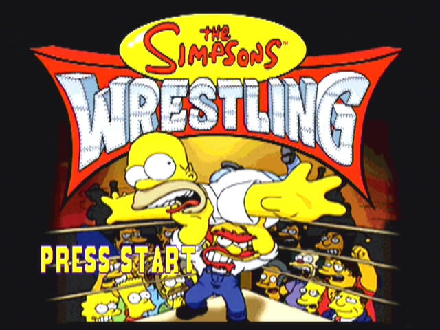 Simpsons Wrestling - 10558