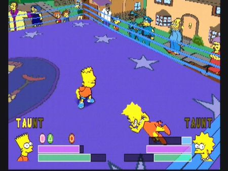 Simpsons Wrestling - 10559