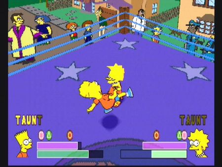 Simpsons Wrestling - 10560