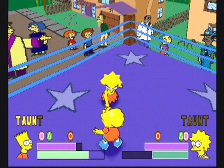 Simpsons Wrestling - 10561