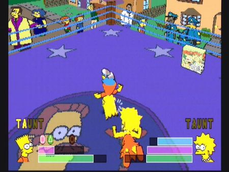Simpsons Wrestling - 10562