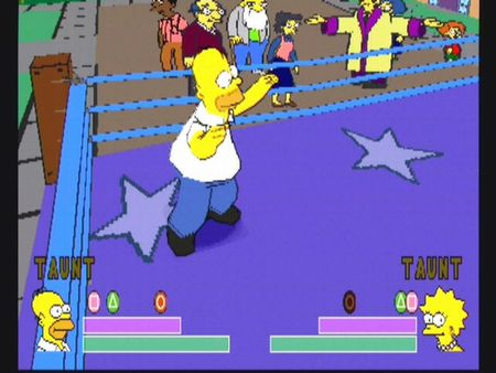 Simpsons Wrestling - 10569