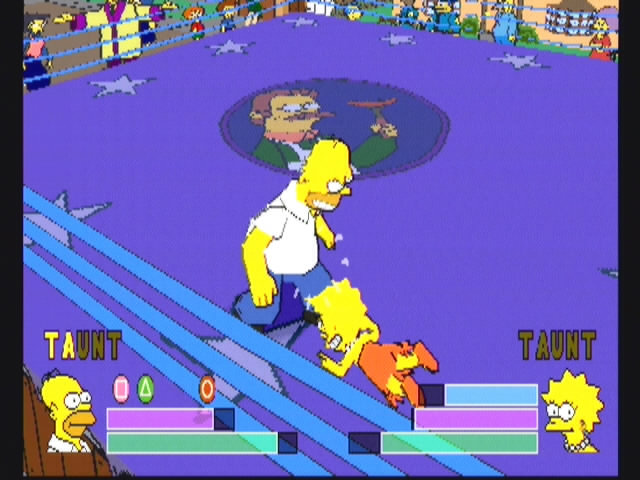 Simpsons Wrestling - 10570
