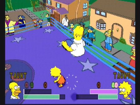 Simpsons Wrestling - 10572