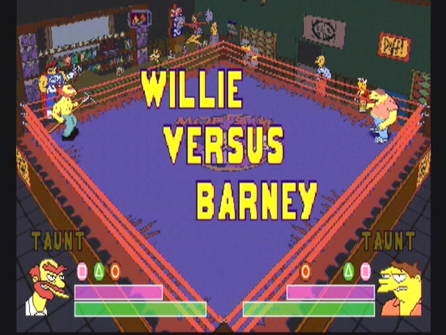 Simpsons Wrestling - 10574