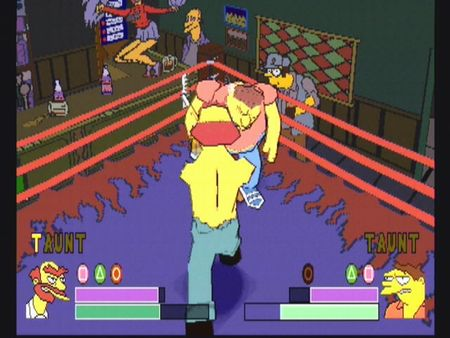Simpsons Wrestling - 10575