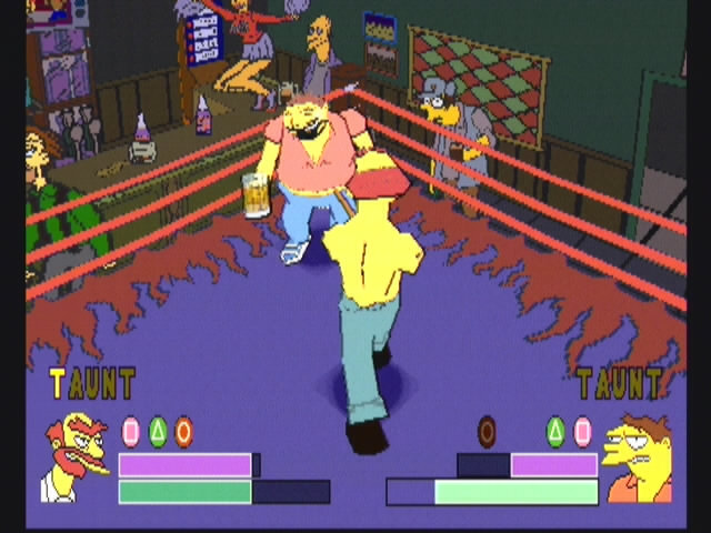 Simpsons Wrestling - 10576
