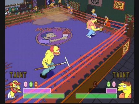 Simpsons Wrestling - 10578