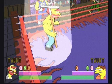 Simpsons Wrestling - 10580