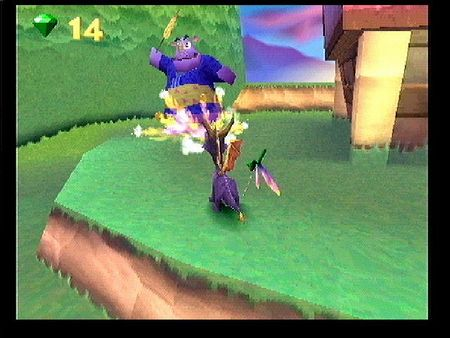 Spyro: Year of the Dragon - 09330