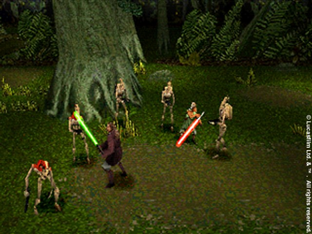 Star Wars Phantom One: Jedi Power Battles - 09087