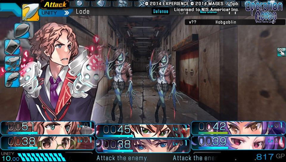 Operation Abyss: New Tokyo Legacy - 01070