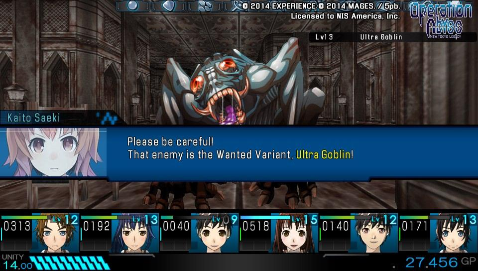 Operation Abyss: New Tokyo Legacy - 01069