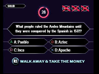 Who Wants To Be a Millionaire? - 09781